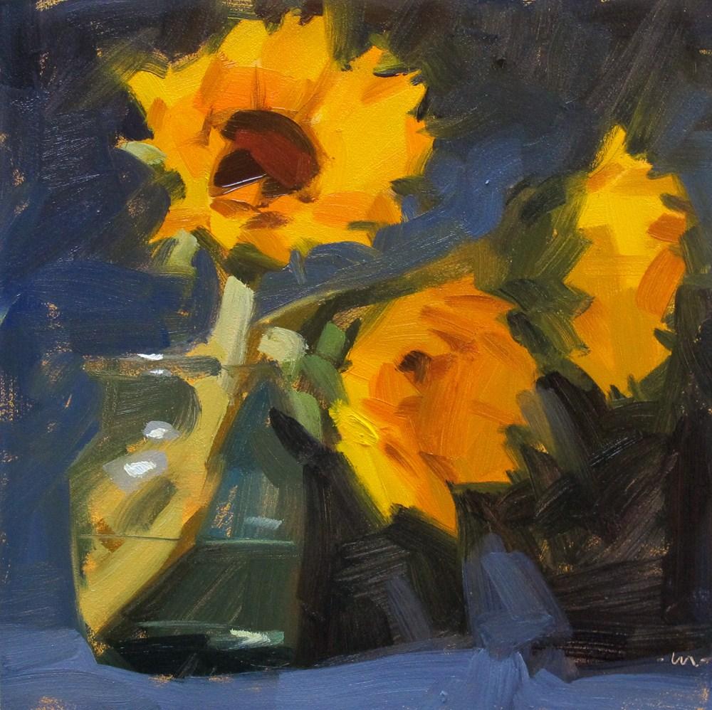 """Reaching Right"" original fine art by Carol Marine"