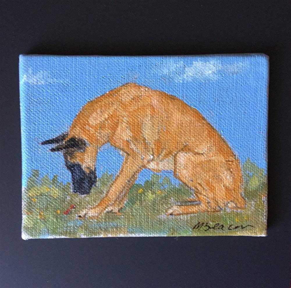 """Great Dane"" original fine art by Mary Beacon"
