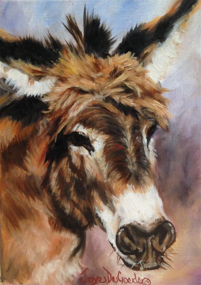 """Wise Ass (c) by Joye DeGoede"" original fine art by Joye DeGoede"