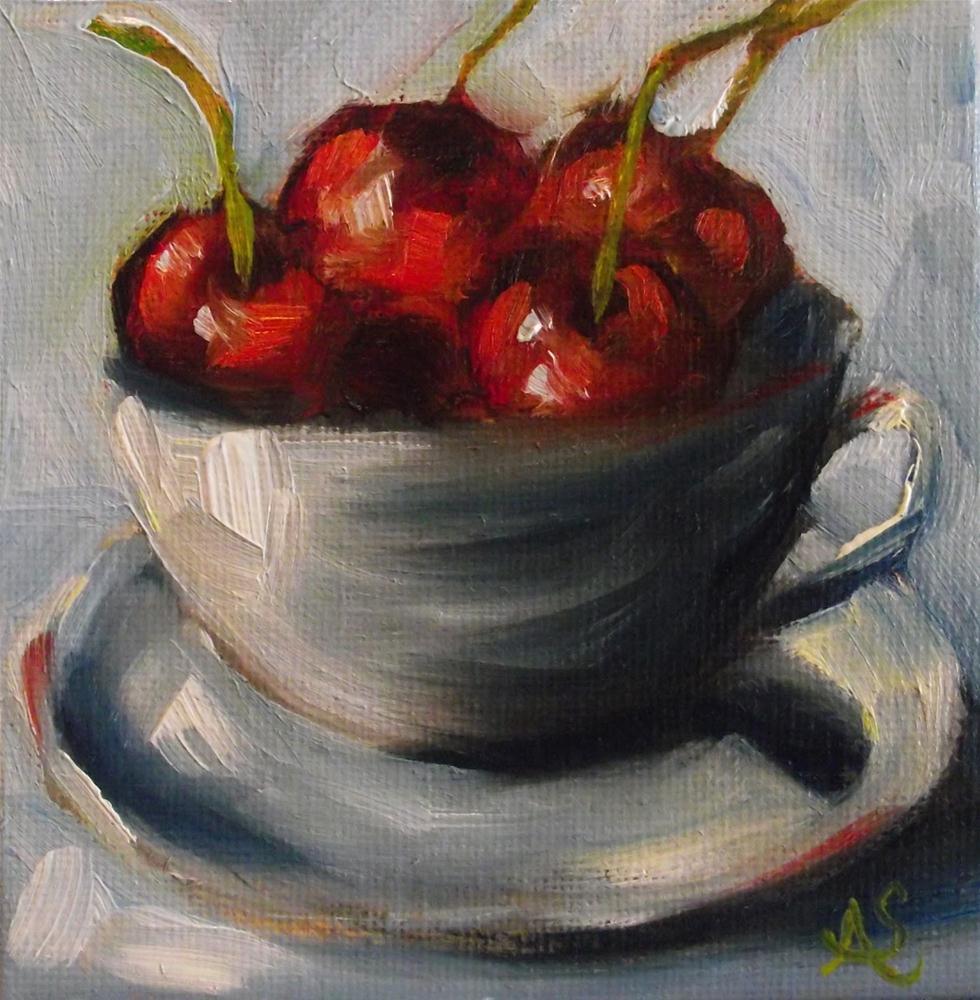 """A Bowl Full Of"" original fine art by Angela Sullivan"
