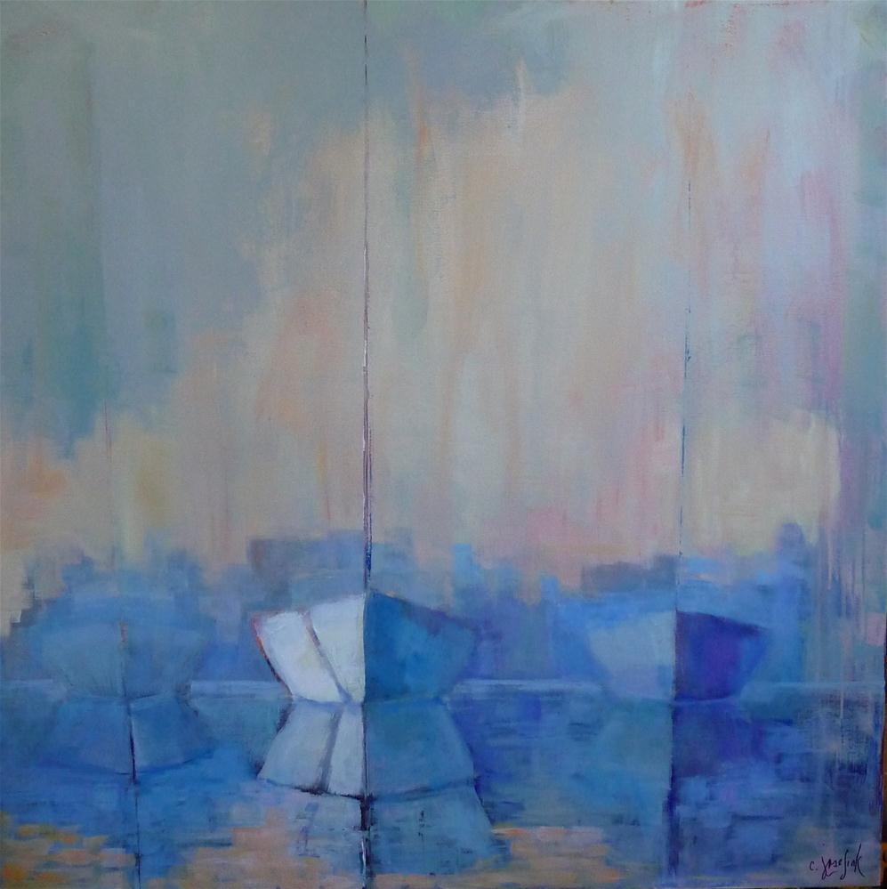 """beyond"" original fine art by Carol Josefiak"