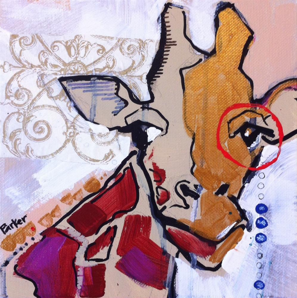 """Monacle"" original fine art by Teddi Parker"