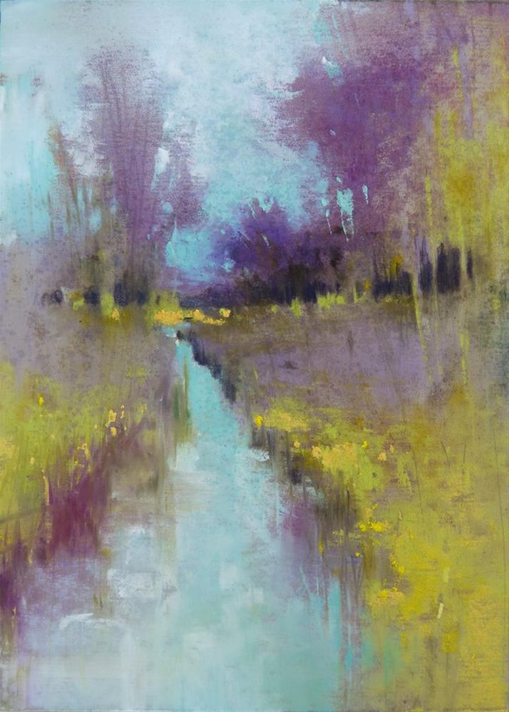 """Rock Creek Series: #4"" original fine art by Barbara Benedetti Newton"