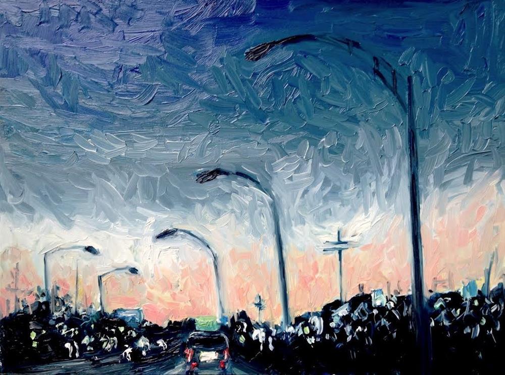 """Highway 64"" original fine art by Devin Howell"
