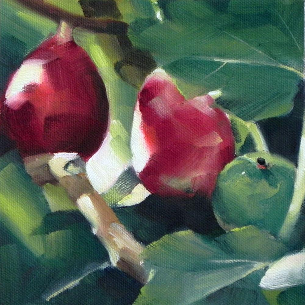 """Figs"" original fine art by Cheryl Wilson"