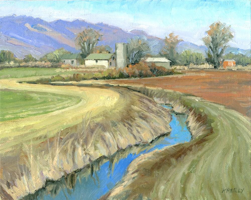 """Spring Planting"" original fine art by Kath Reilly"