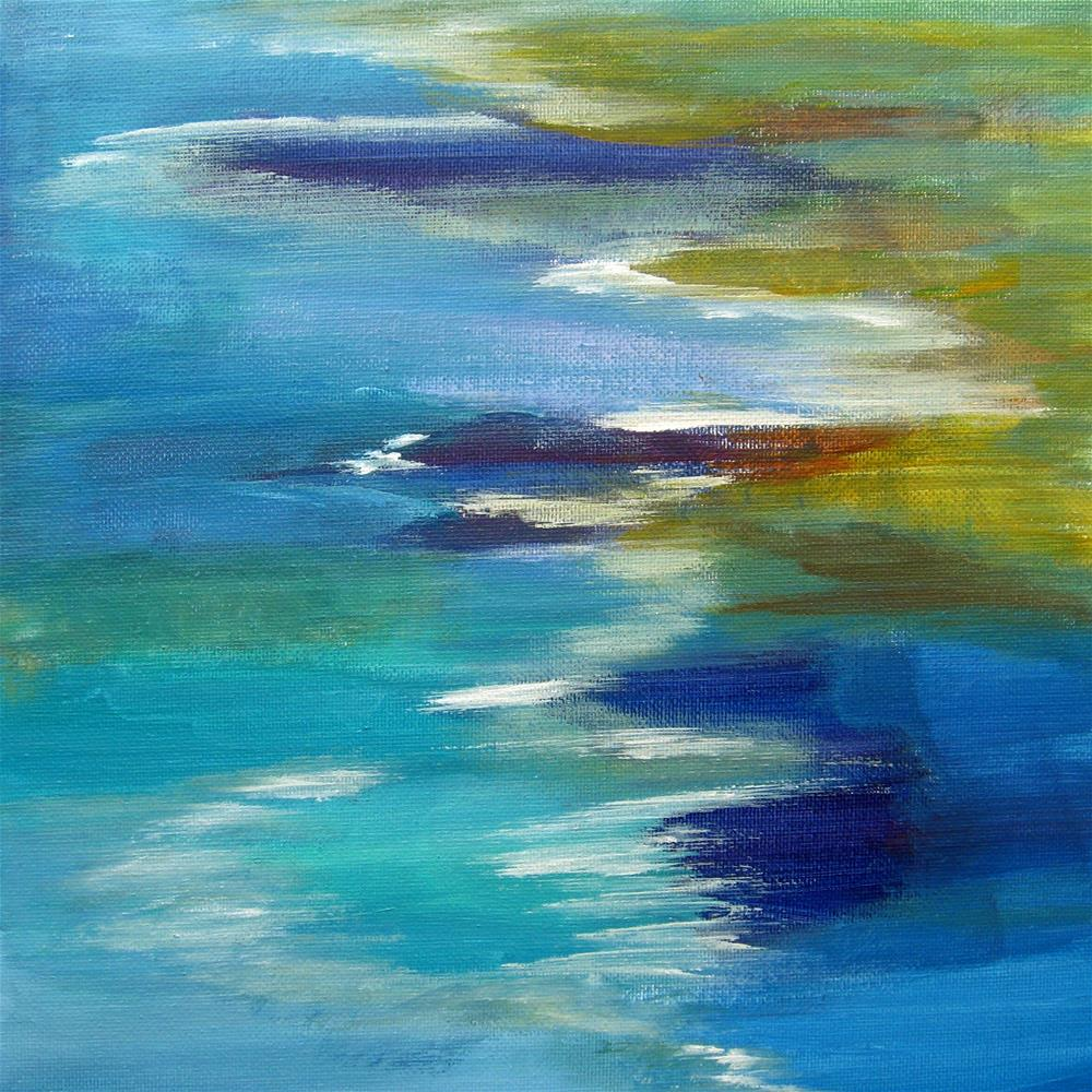 """Ocean Colors"" original fine art by Alina Frent"