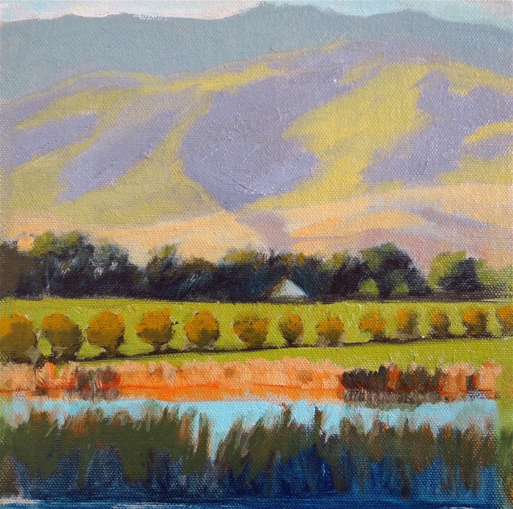 """California Landscape"" original fine art by Nancy Paris Pruden"