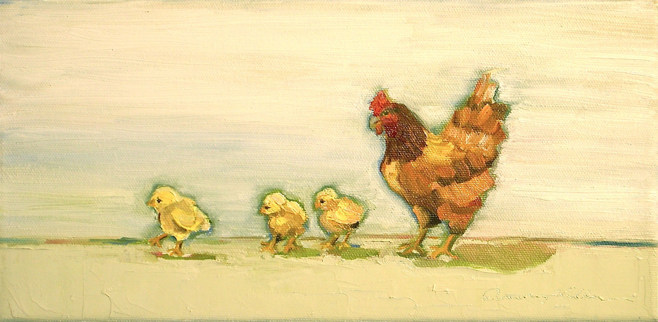 """Steppin' Out"" original fine art by Donna Walker"