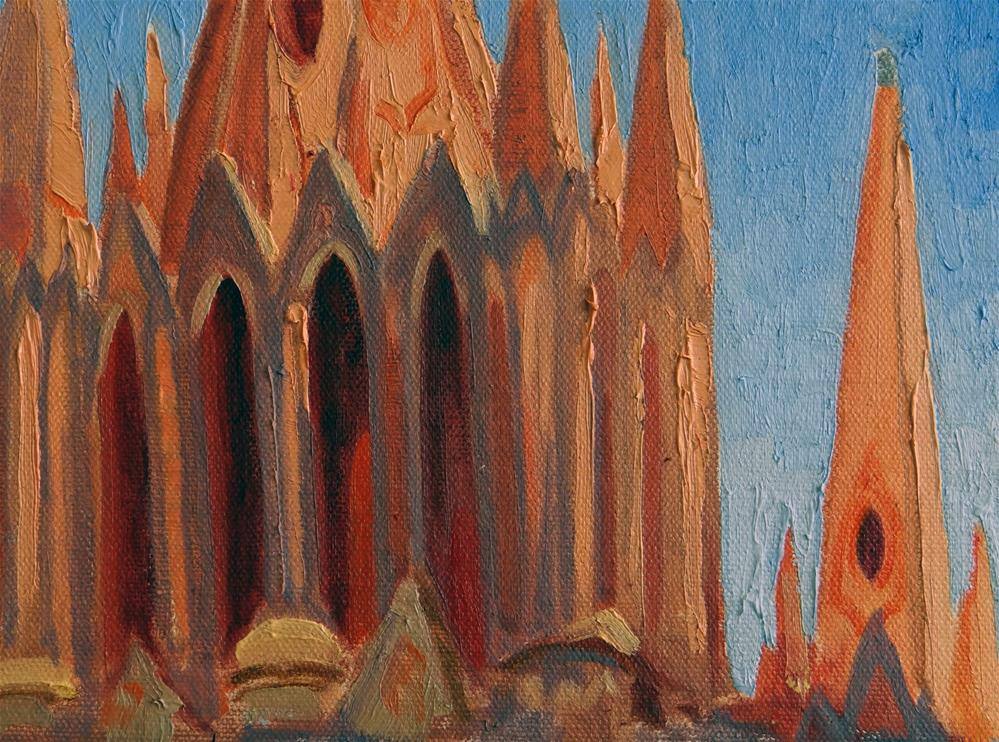 """La Parroquia, San Miguel"" original fine art by Nancy Paris Pruden"
