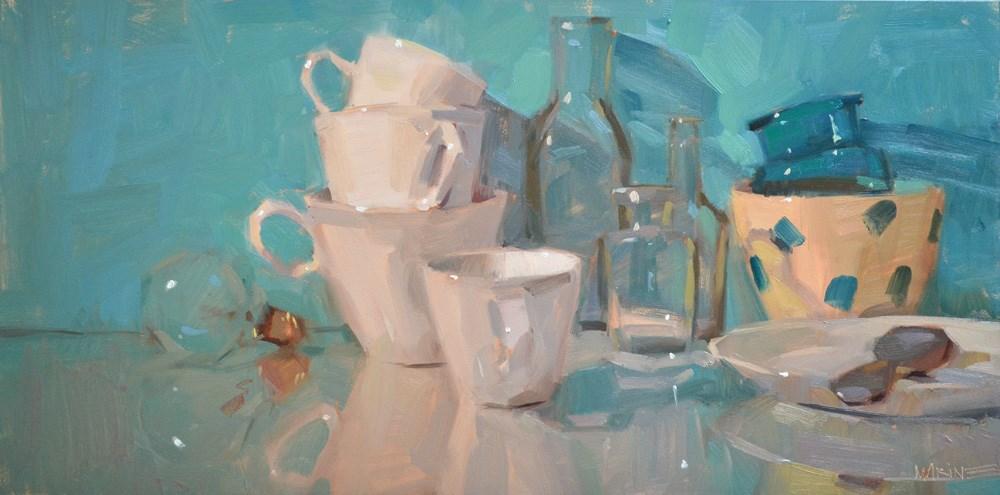 """Standing Still"" original fine art by Carol Marine"