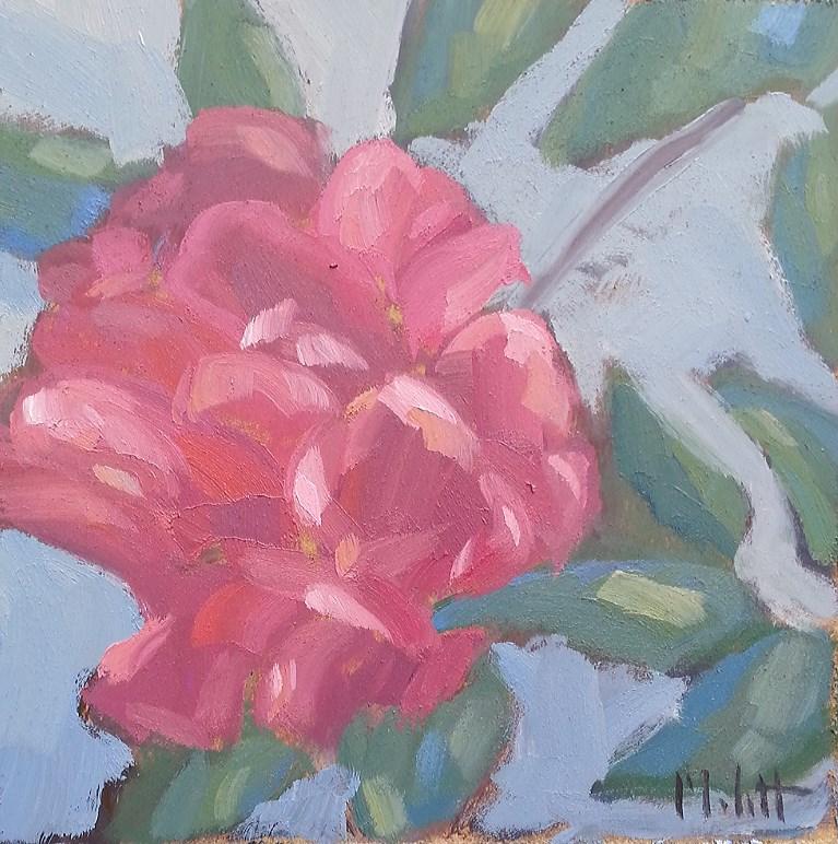 """Peony Garden Still Life Floral Impressionism Original Oil Painting"" original fine art by Heidi Malott"