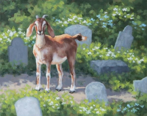 """Lost and Found IV"" original fine art by Sarah Becktel"