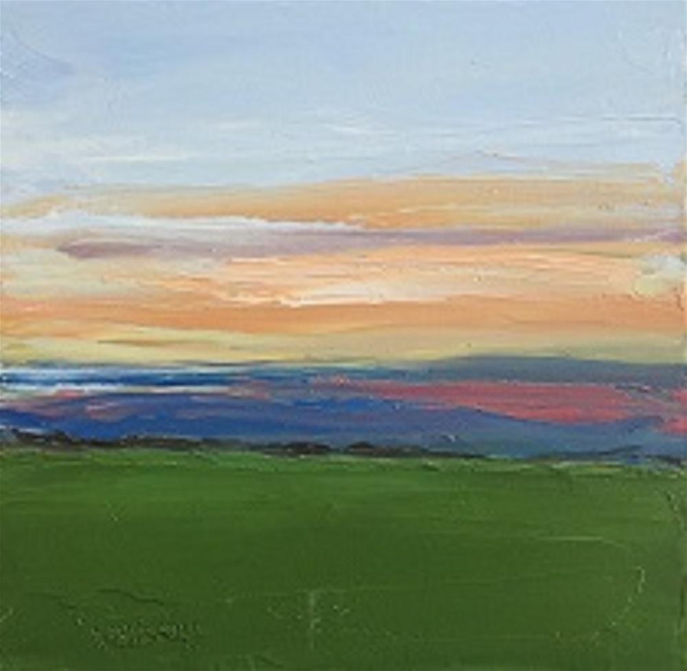 """SUNSET IRELAND #7"" original fine art by Marie O' Higgins"