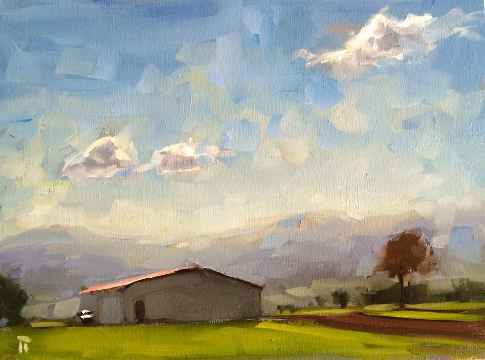 """West and Up"" original fine art by Thomas Ruckstuhl"