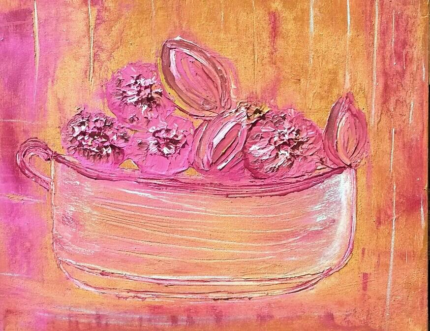"""Bloom 10"" original fine art by Christy Tremblay"