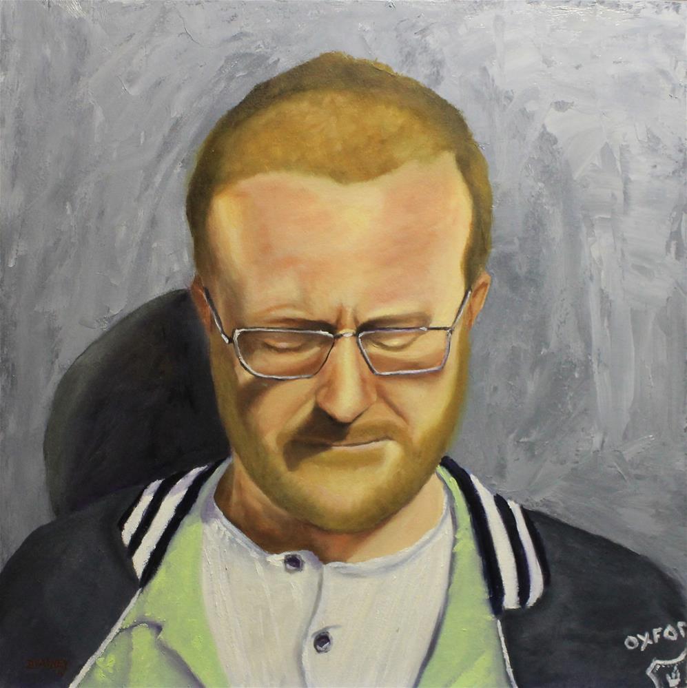 """Portrait of Patrick"" original fine art by Daniel Varney"
