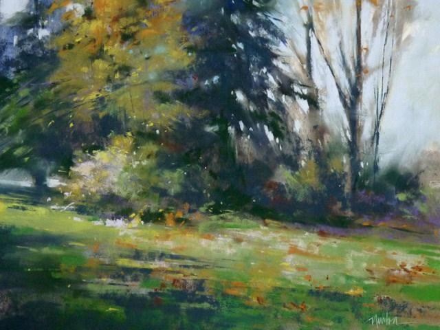 """""""Daily Grace"""" original fine art by Barbara Benedetti Newton"""
