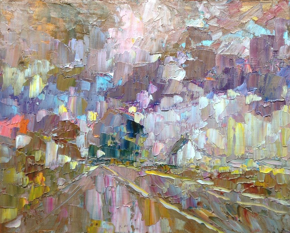 """Road to Kilkenny "" original fine art by Joseph Mahon"
