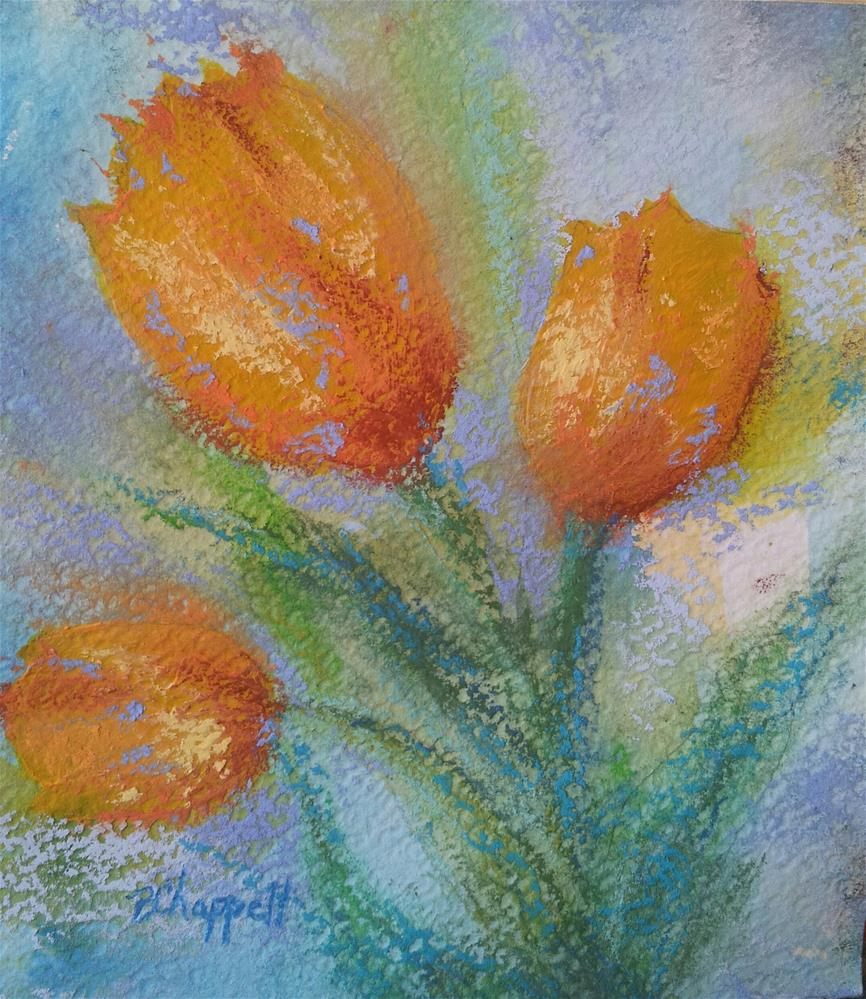 """Rejoicing"" original fine art by Becky Chappell"