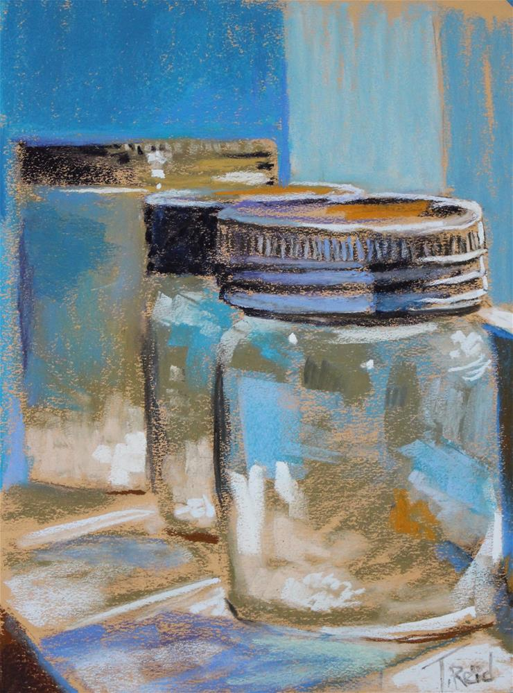 """Mason Jars"" original fine art by Toby Reid"