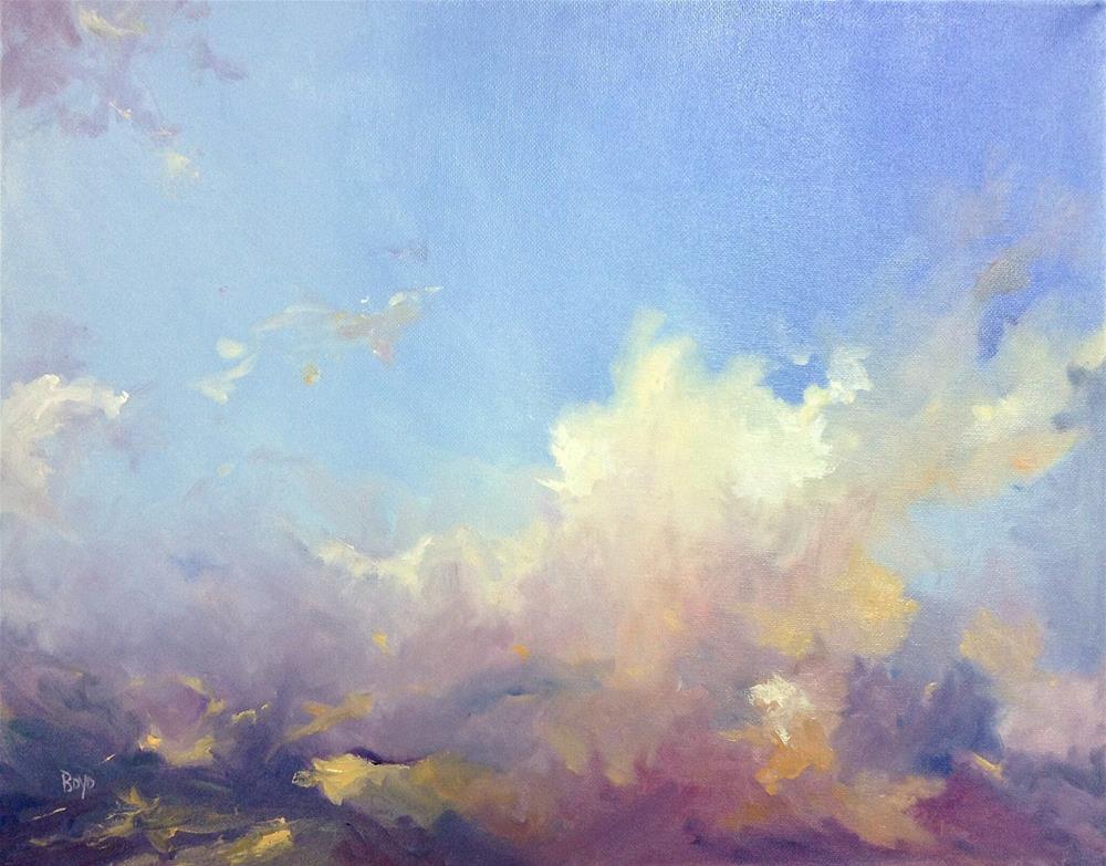 """""""Uplifting"""" original fine art by Cathy Boyd"""