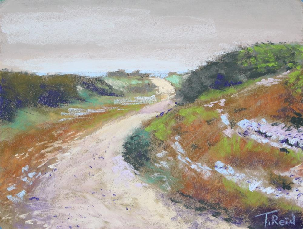 """Quiet Winding Path"" original fine art by Toby Reid"
