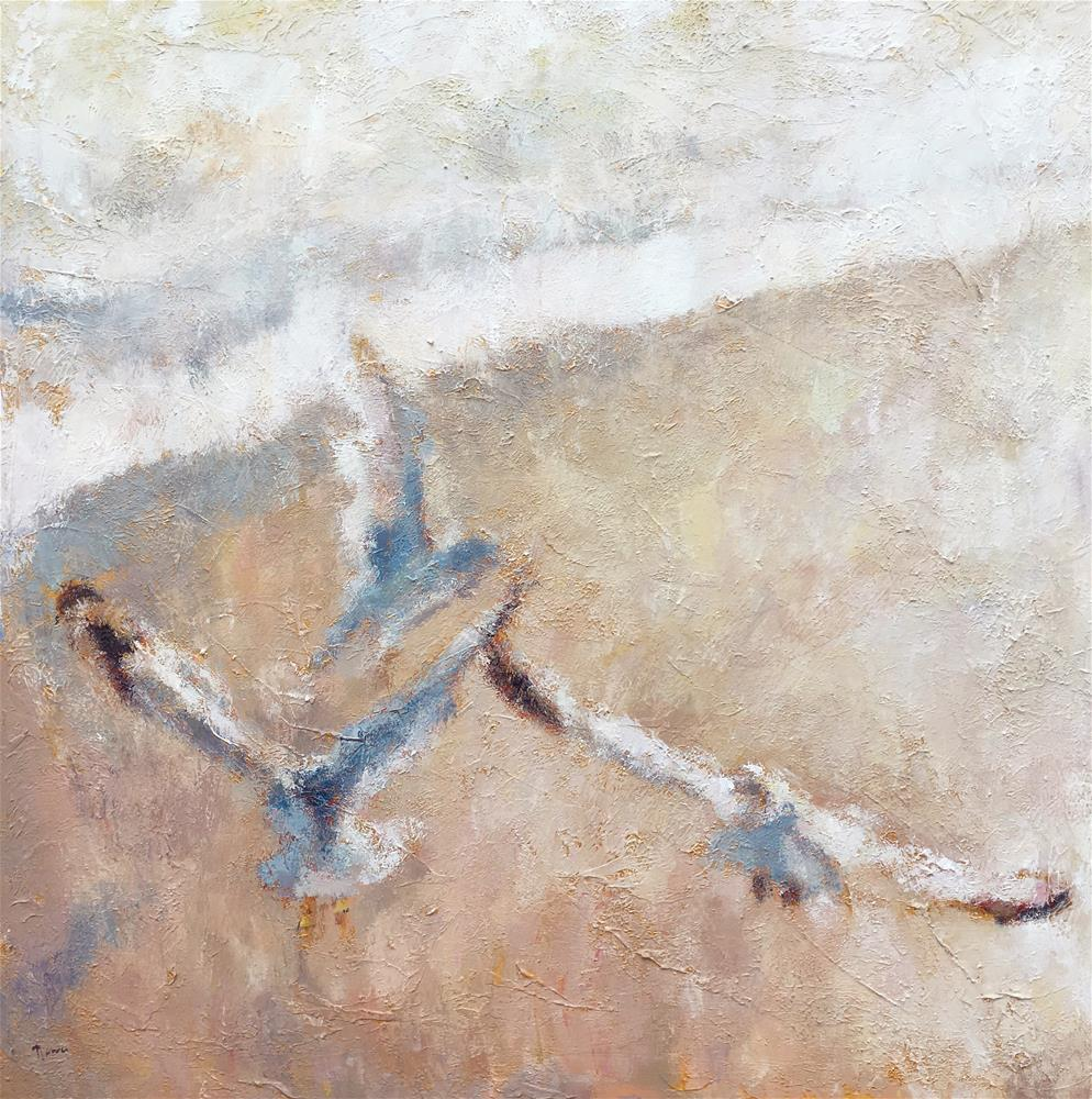 """Beach Music"" original fine art by Nava Judith"