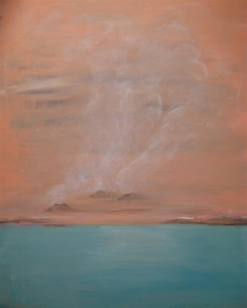"""""""Fumaroles"""" original fine art by Alina Frent"""