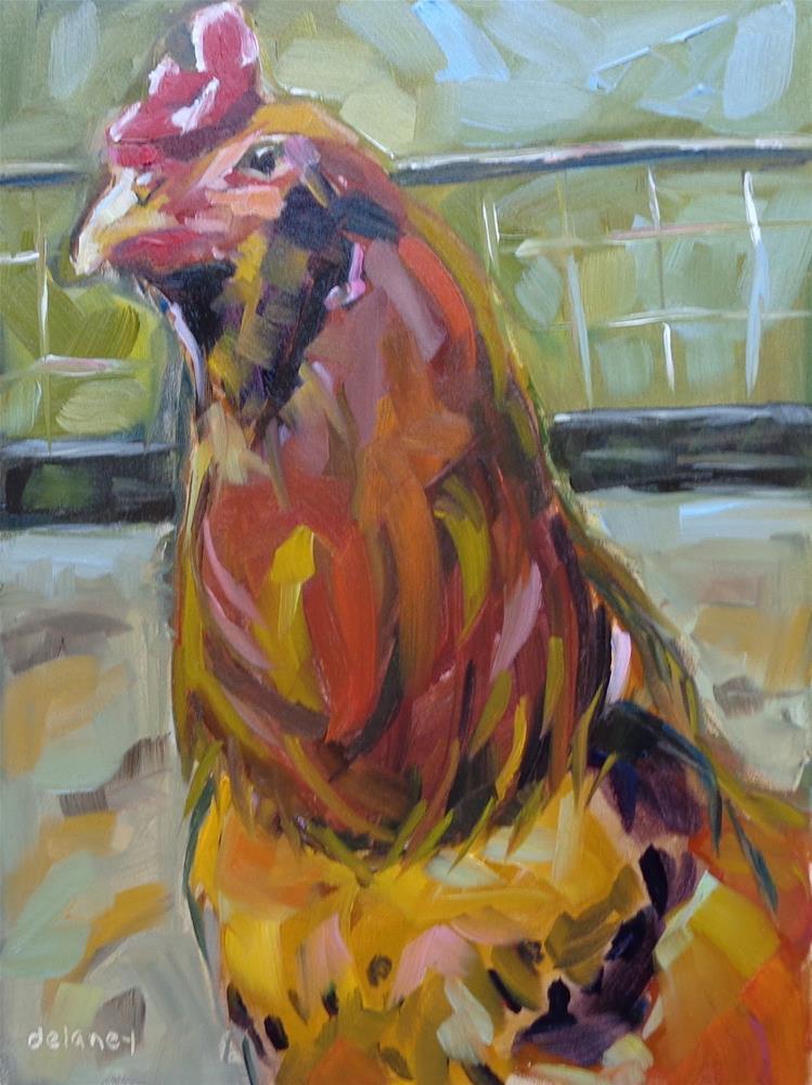 """""""FANCY PANTS"""" original fine art by Jean Delaney"""