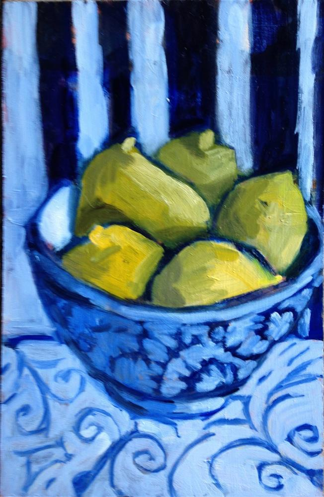"""Are These Peeps or Lemons?"" original fine art by Pamela Hoffmeister"