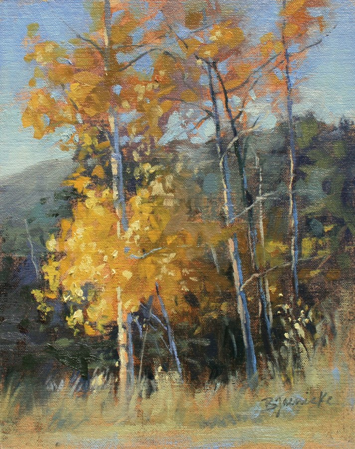 """Golden Moment"" original fine art by Barbara Jaenicke"