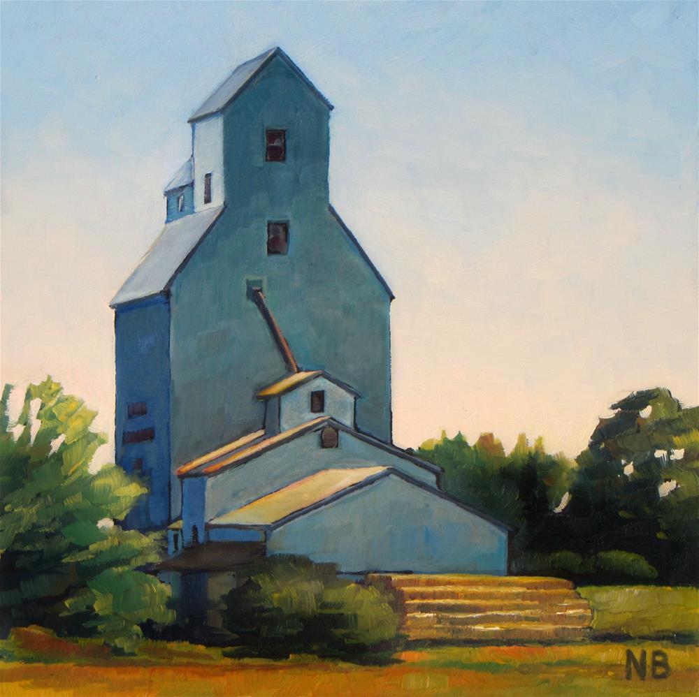 """Lakeside Grain & Seed"" original fine art by Nora Bergman"