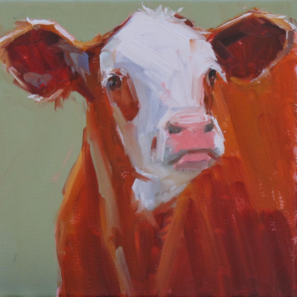 """scrappy"" original fine art by Carol Carmichael"