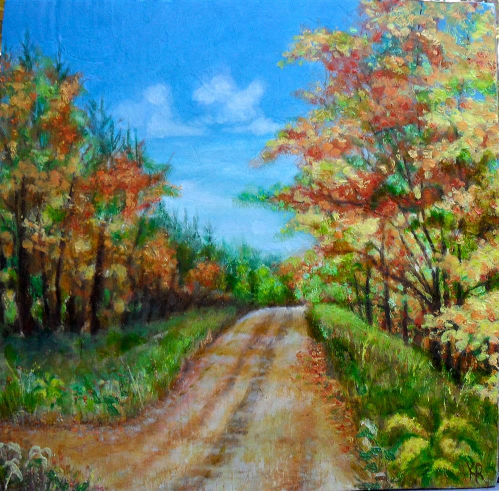 """""""Almost Home"""" original fine art by Karen Roncari"""