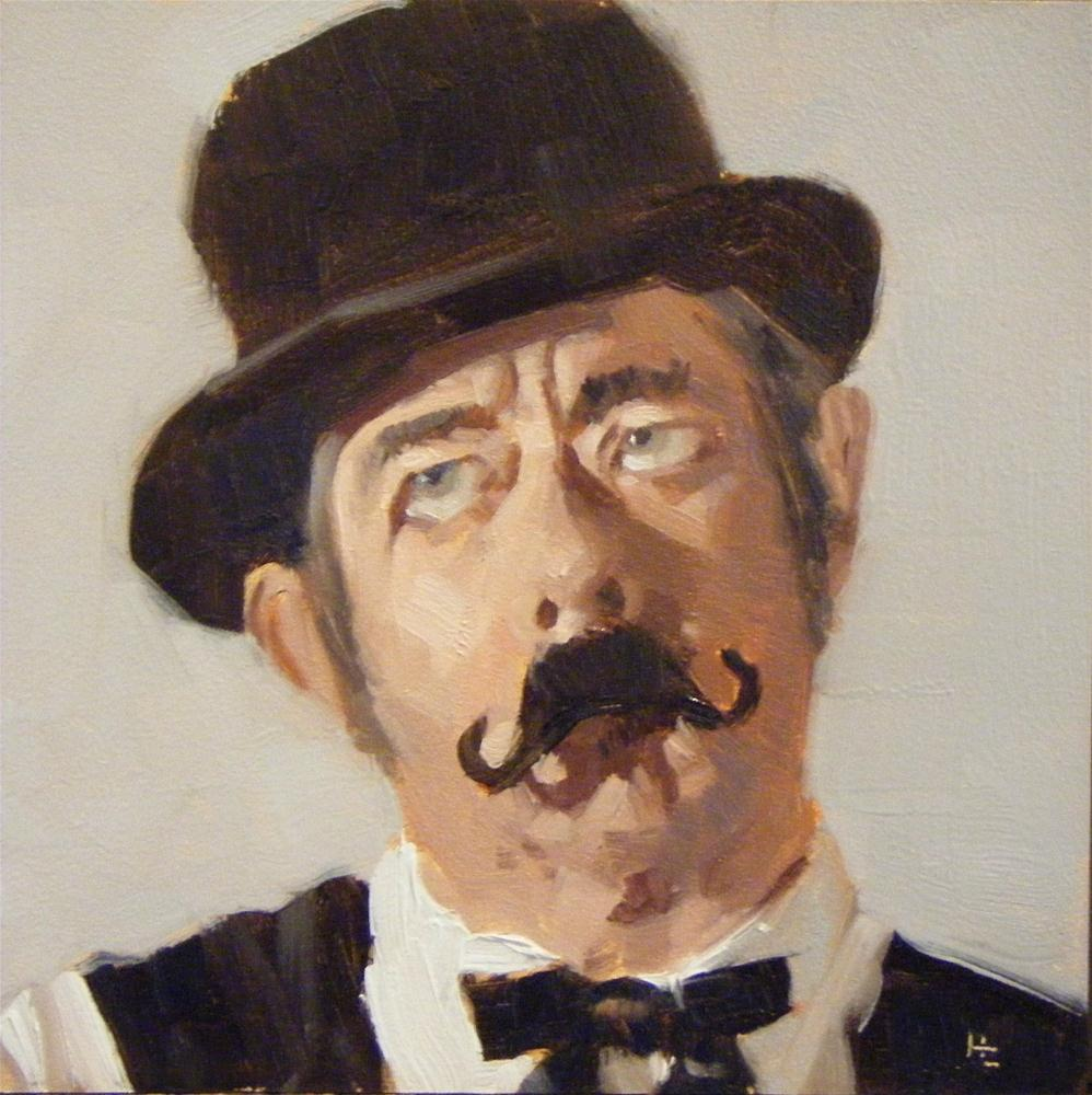 """FACE IT #30  DERBY CHAP #1"" original fine art by Helen Cooper"