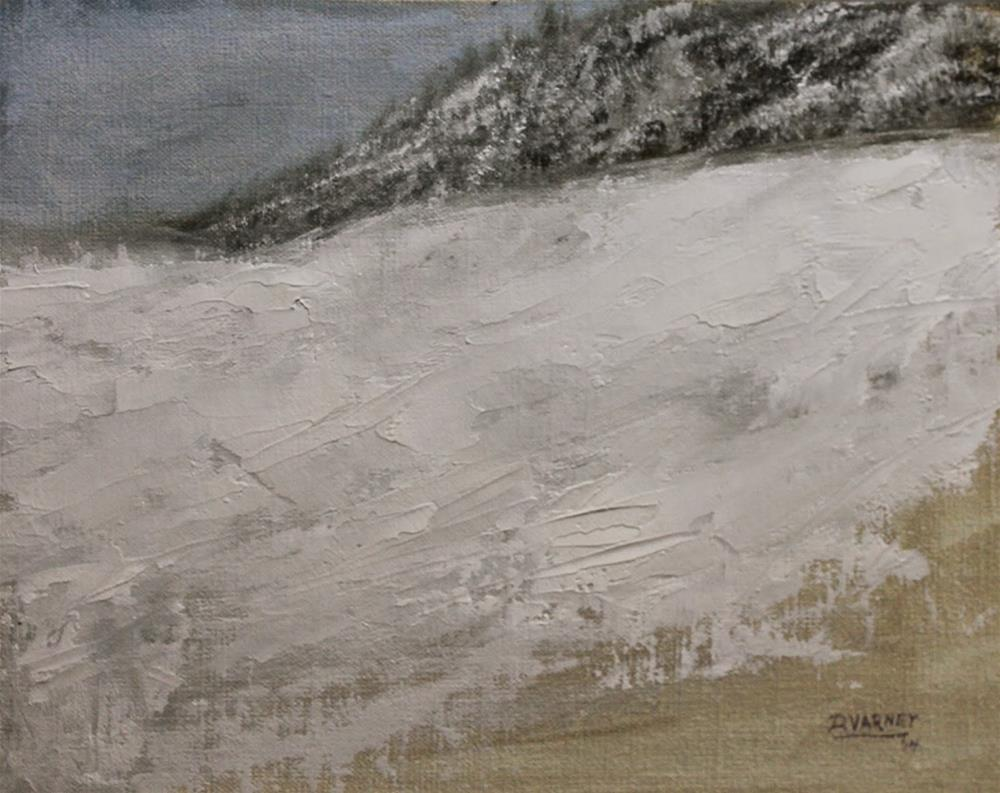 """Winter Landscape"" original fine art by Daniel Varney"