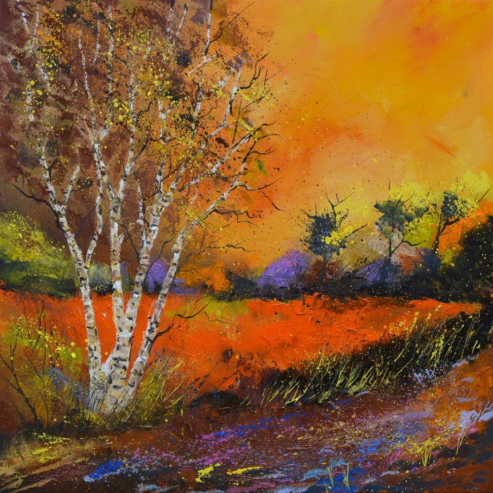 """Autumn 8851"" original fine art by Pol Ledent"