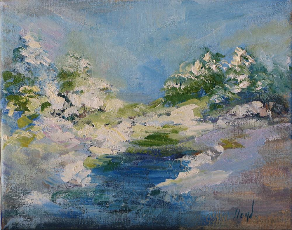 """""""First Snow"""" original fine art by Diane Lloyd"""