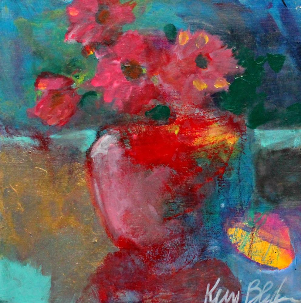 """Flowers"" original fine art by Kerri Blackman"