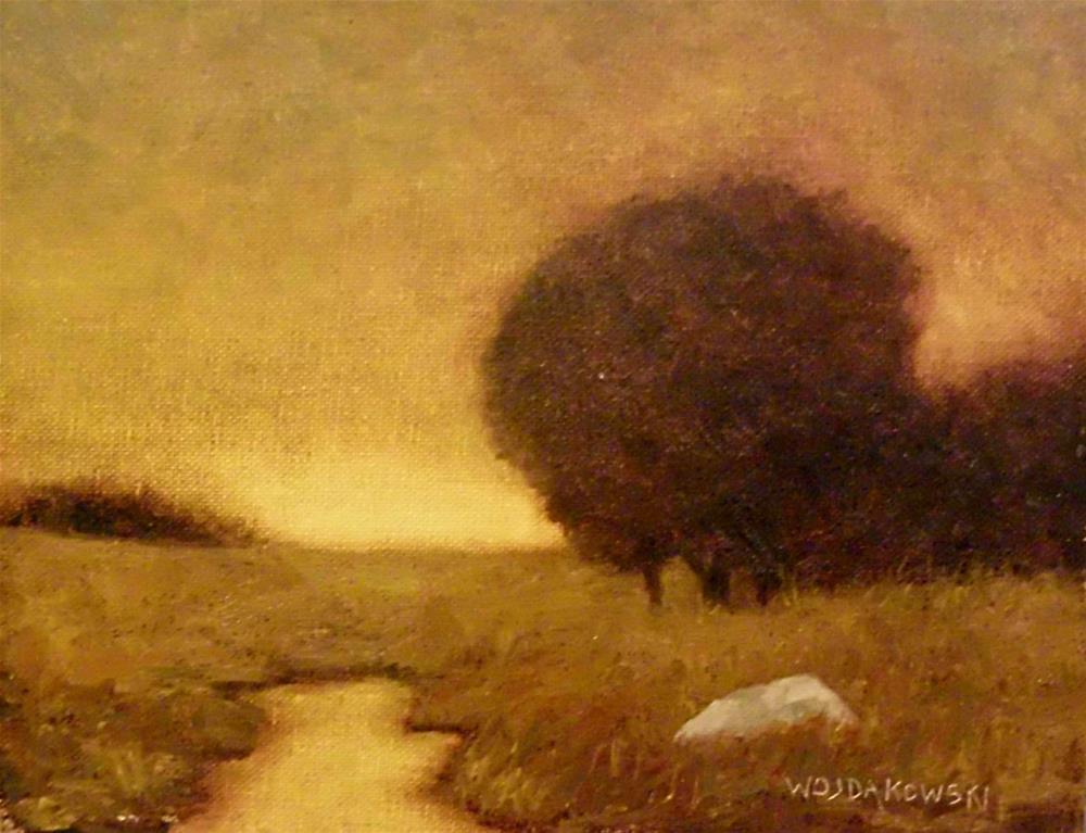 """""""Evening glow"""" original fine art by Joe Wojdakowski"""