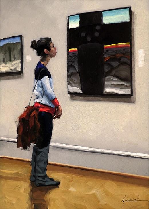 """Come Across"" original fine art by Karin Jurick"