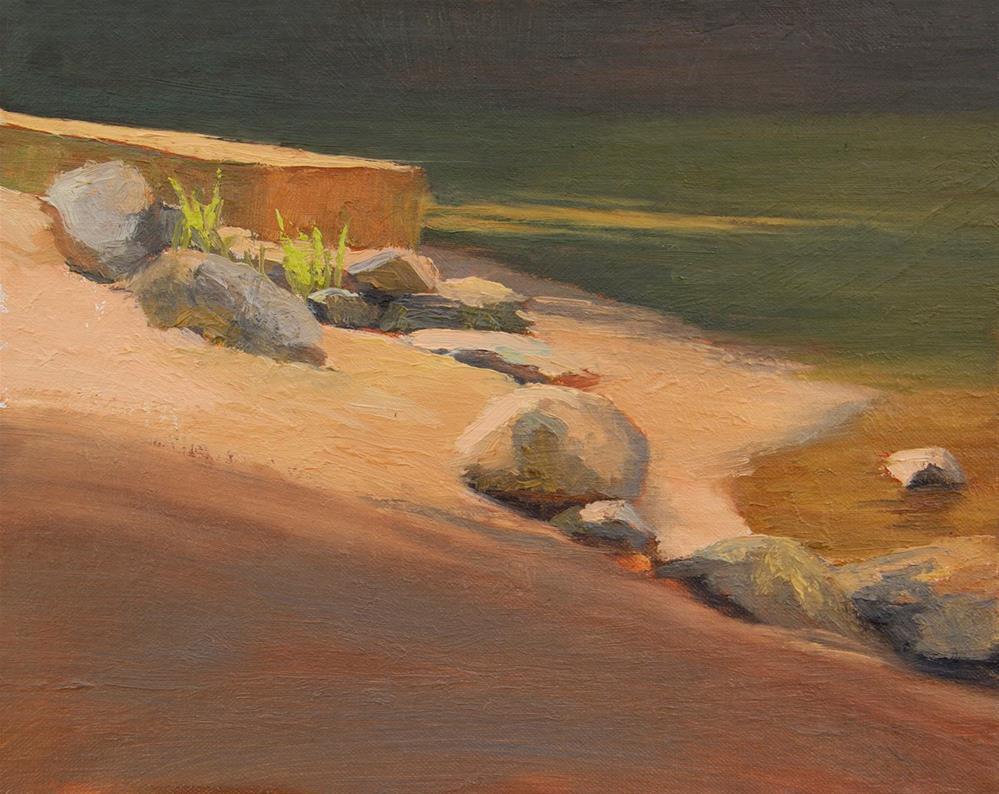"""""""#75 hot rocks"""" original fine art by Nancy Wallace"""