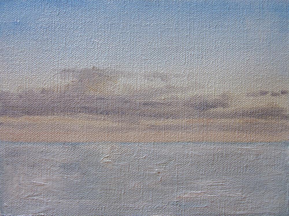"""""""Morning Sky June 2016"""" original fine art by Rachel Steely"""