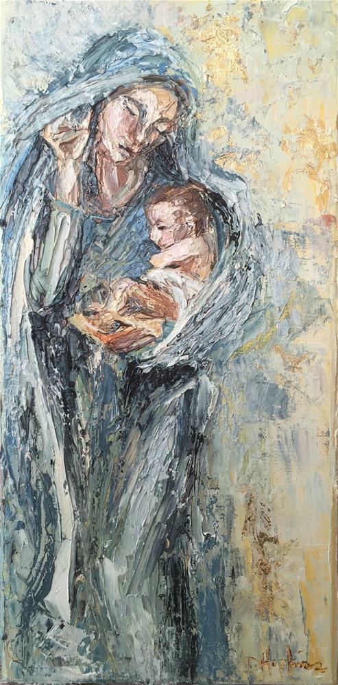 """Untitled"" original fine art by Denise Hopkins"