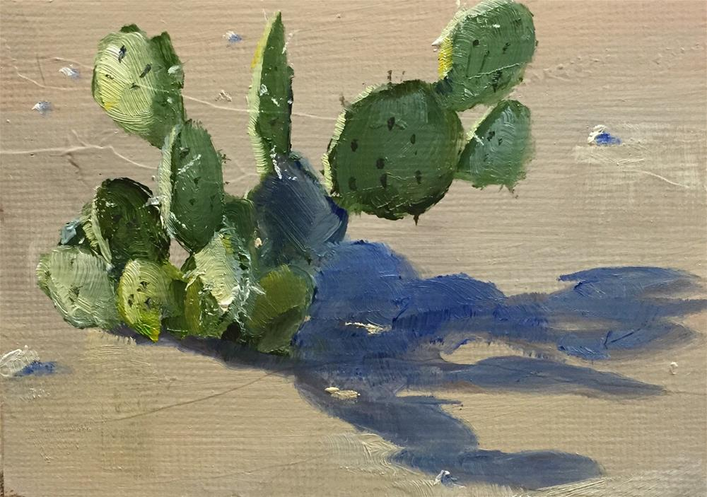 """Prickly"" original fine art by Gary Bruton"