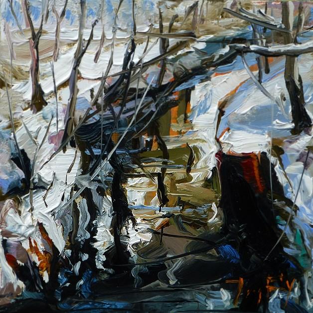 """Bach"" original fine art by Jurij Frey"