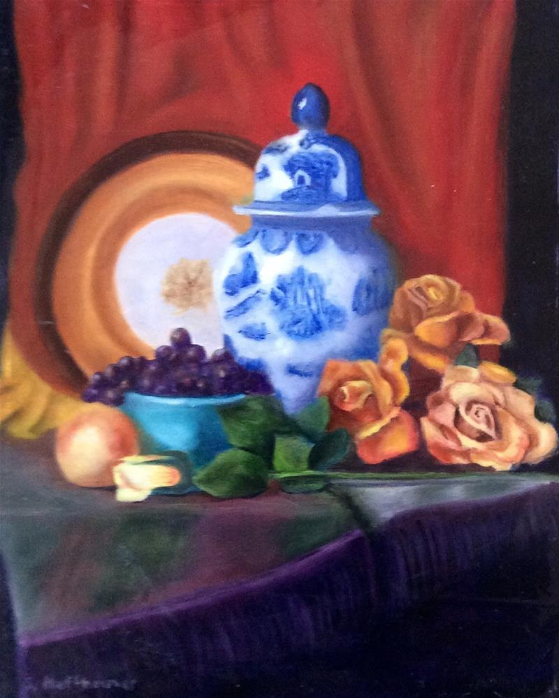 """""""The Study"""" original fine art by Susan Hoffheimer"""