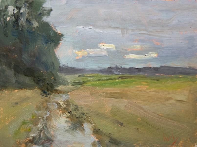 """South View"" original fine art by Randall Cogburn"