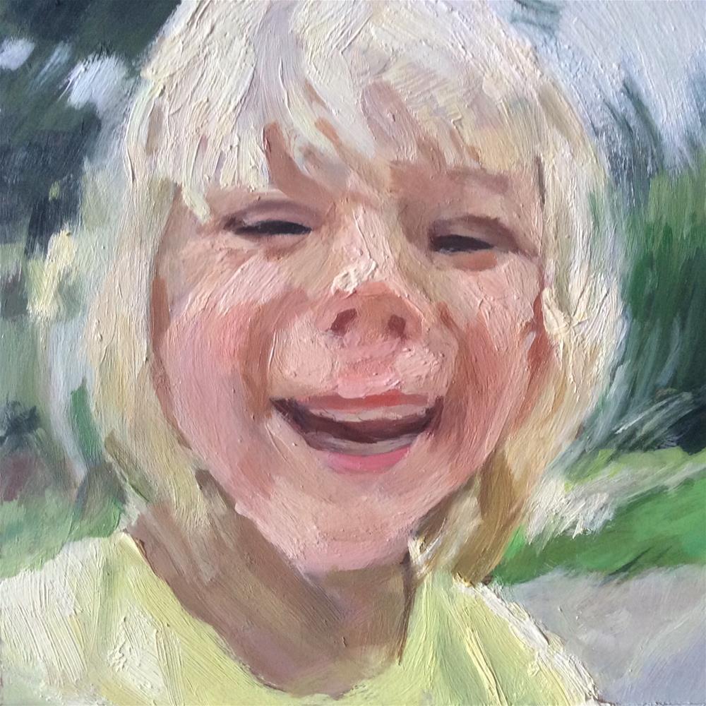 """Joy"" original fine art by Paula Howson-Green"